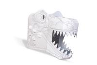Colour in T-Rex 3D Card Mask