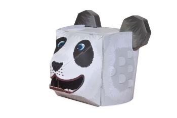 Panda 3D Card Mask
