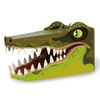 Crocodile 3D Card Mask