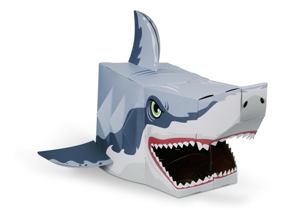 Shark 3D Card Mask