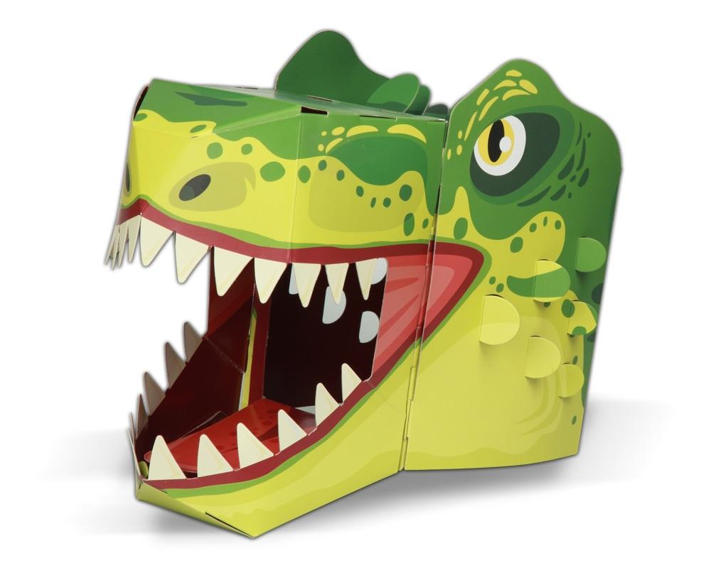 T-Rex 3D Card Mask
