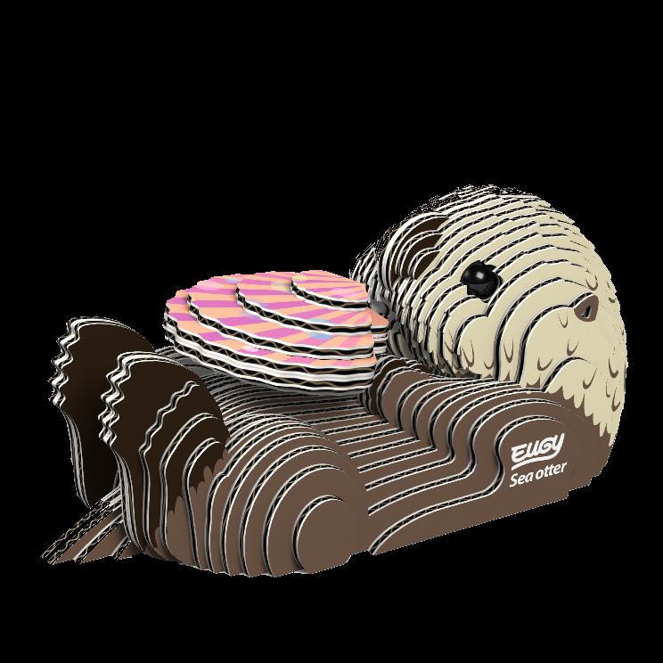 Sea Otter 3D Model Kit