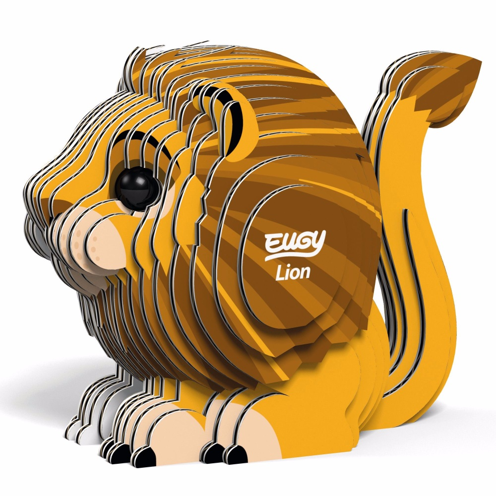 Lion 3D Model Kit