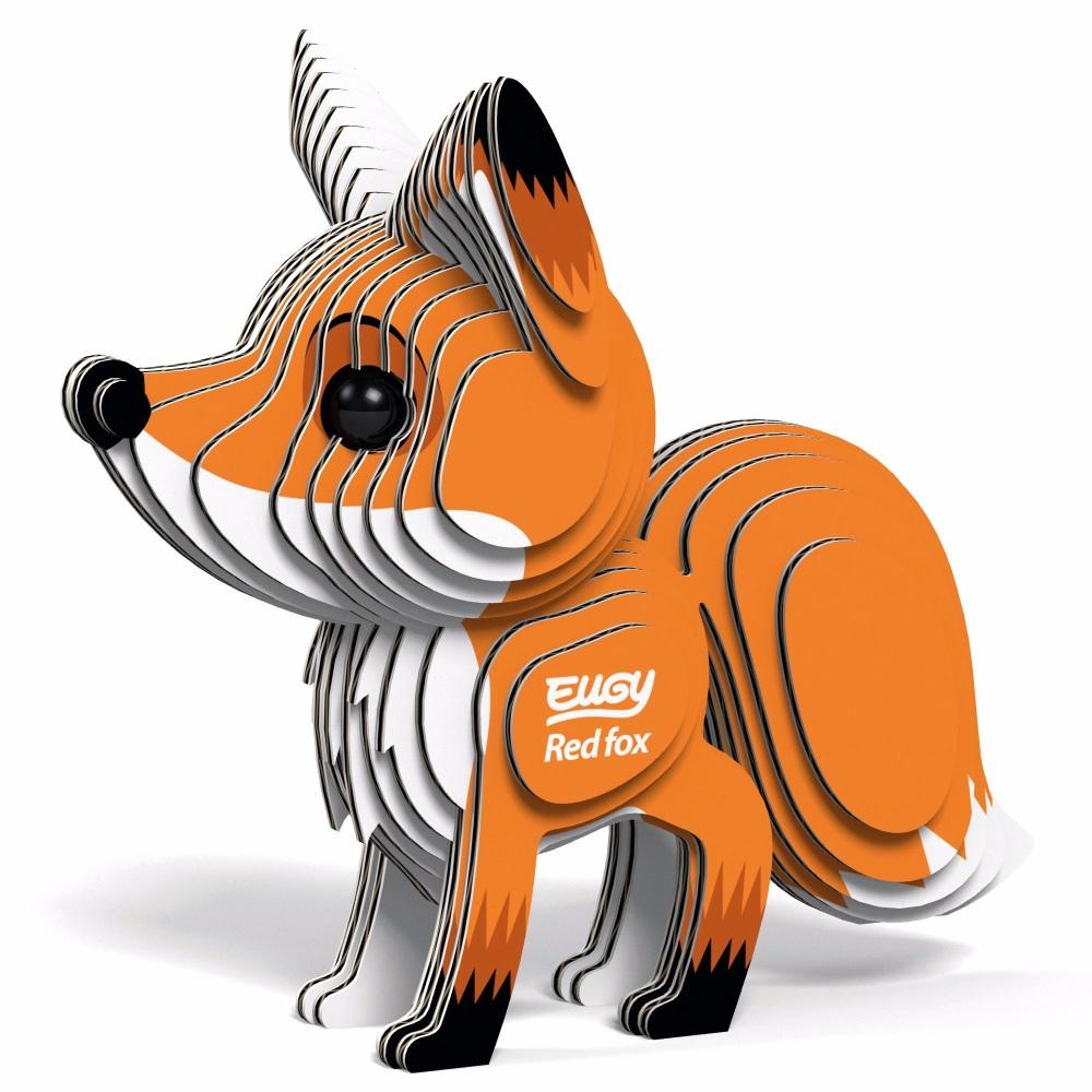 Red Fox 3D Model Kit