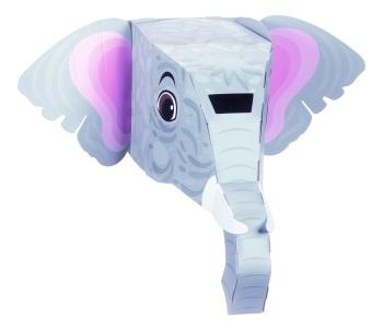 Elephant 3D Mask Kit