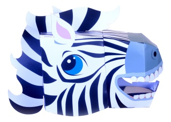 Zebra 3D Mask Kit