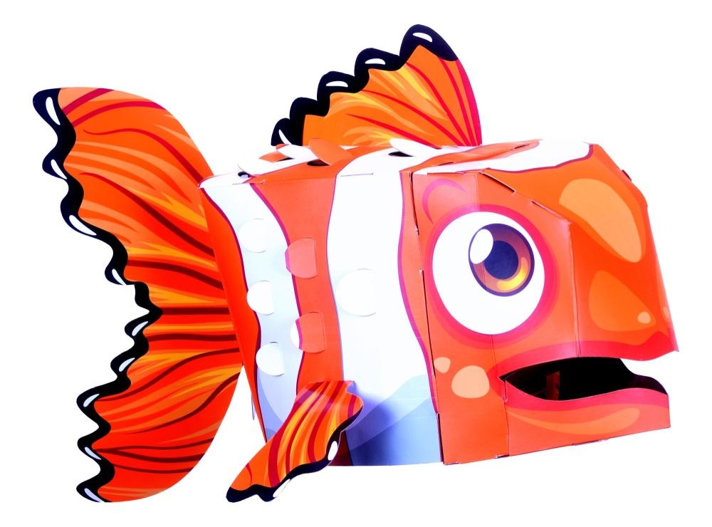 Clownfish 3D Mask Kit