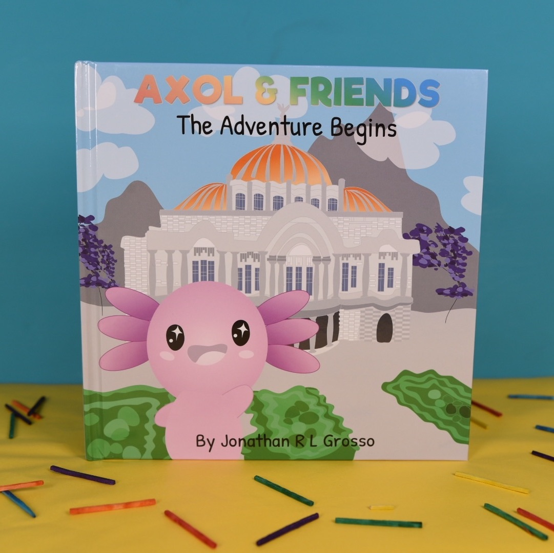 The Adventure Begins, Axol and Friends Hardback Storybook