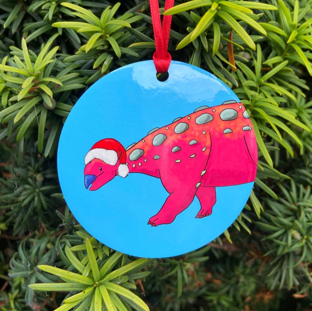 Ankylosaurus Christmas Decoration