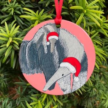 Giant Anteater Christmas Decoration