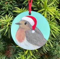 Robin Christmas Decoration