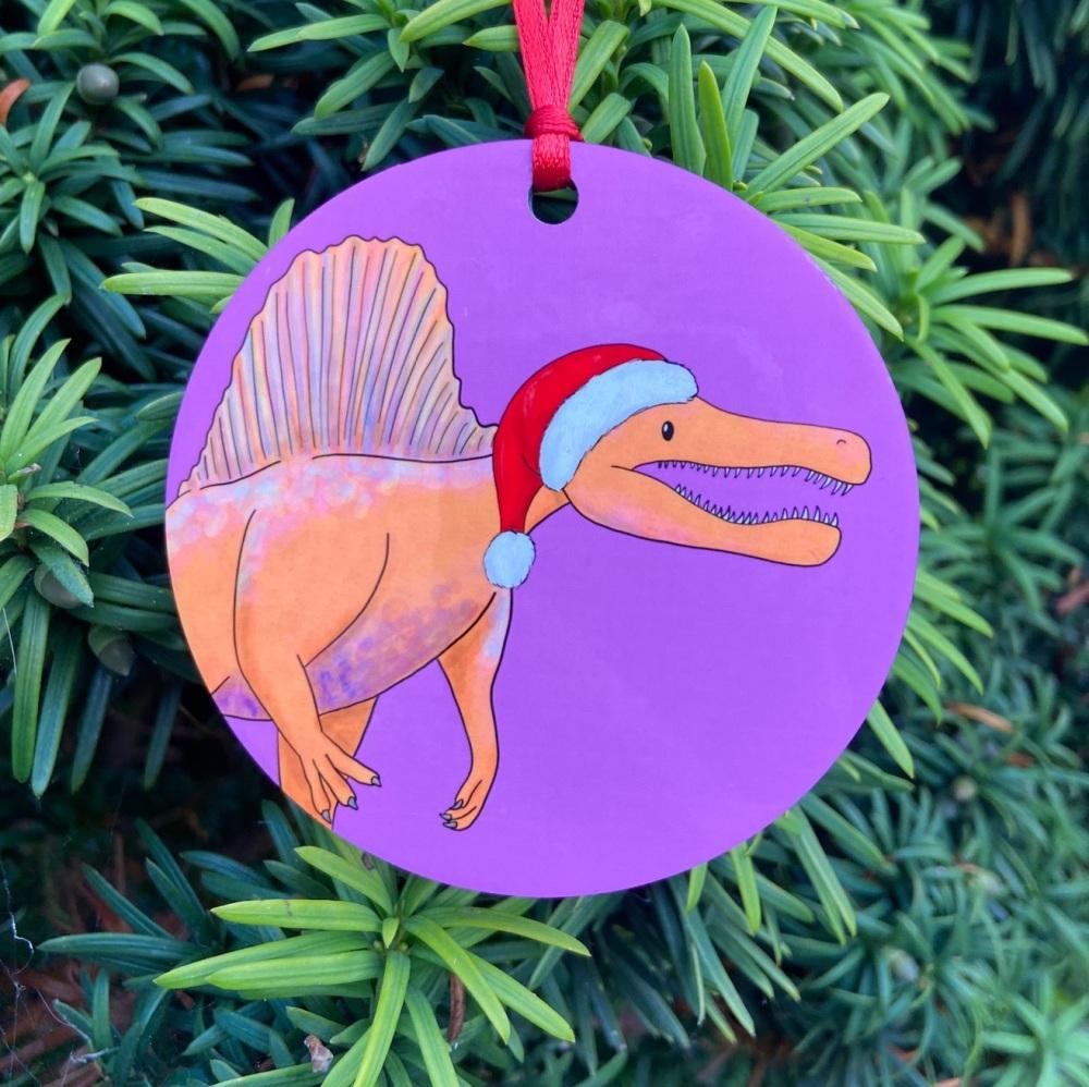 Spinosaurus Christmas Decoration
