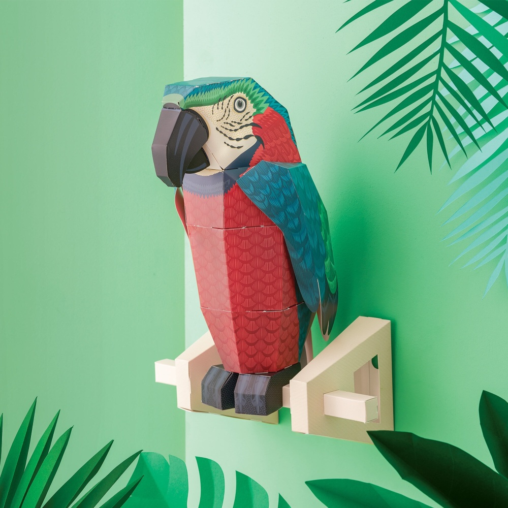 Create your own Parrot on a Perch