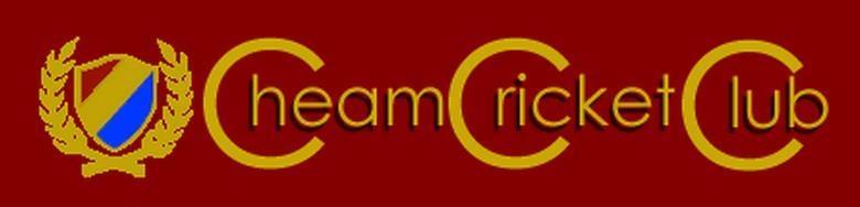 Cheam Cricket Club, site logo.