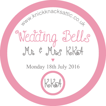 Special Edition Wax Melts - Personalised Label Wedding Favours