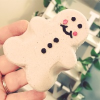 Gingy The Gingerbread Bath Bomb
