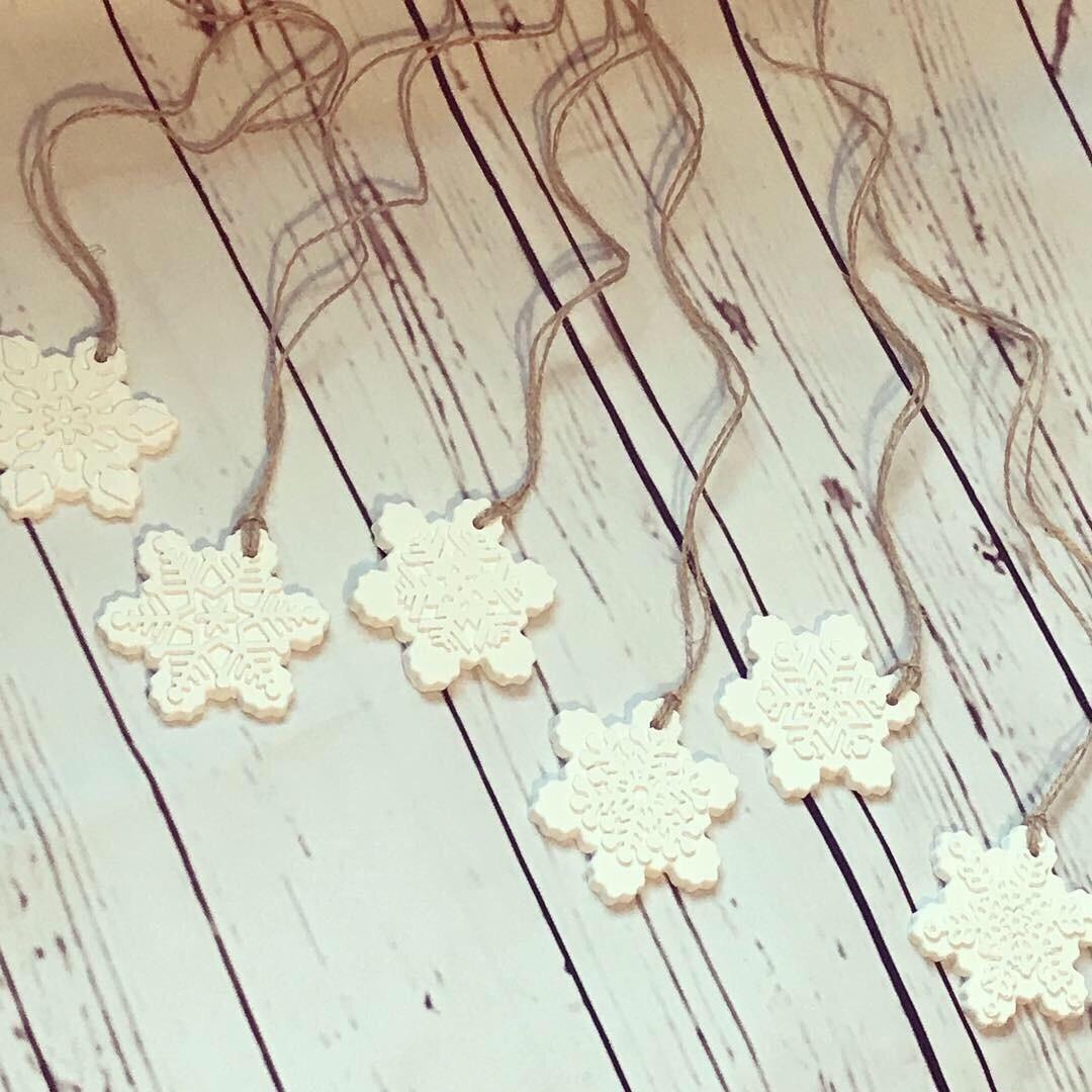 Snowflake (Festive) Fragranced Hanging Decoration