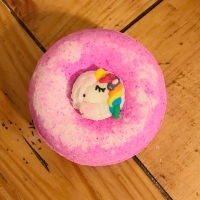 I Believe In Unicorns & Rainbows Bath Bomb