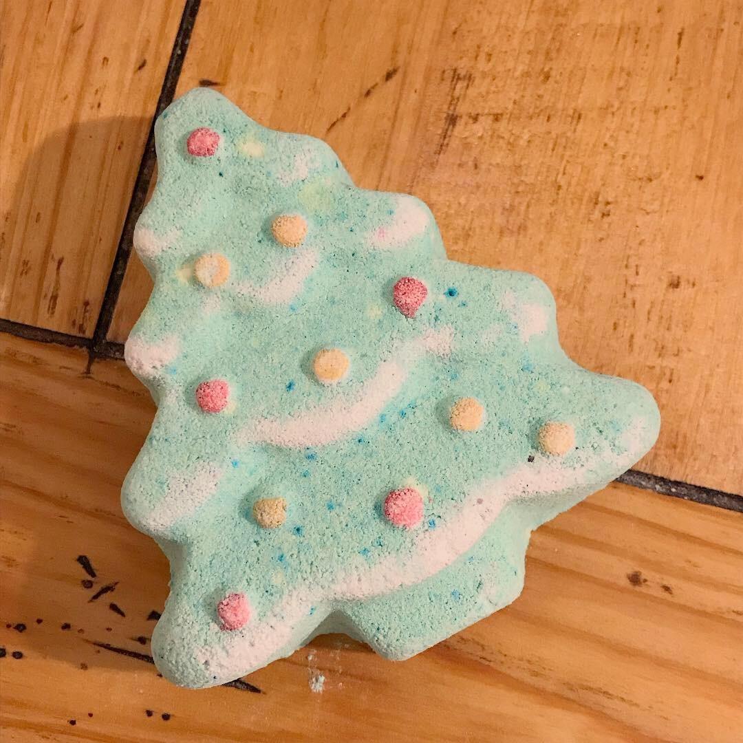 O Christmas Tree Bath Bomb