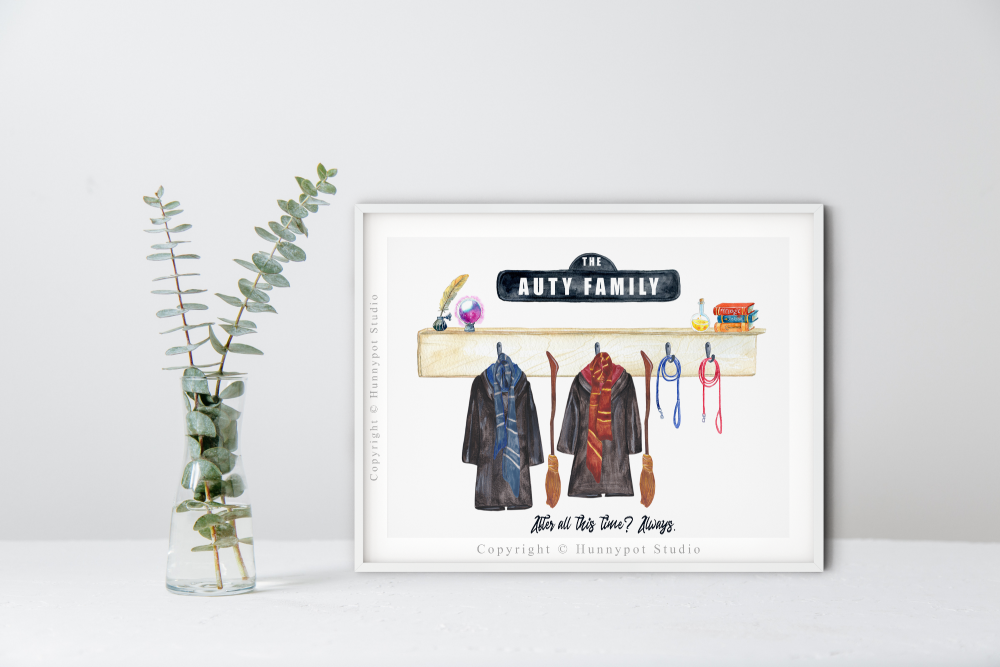 Wizard Cloaks Print