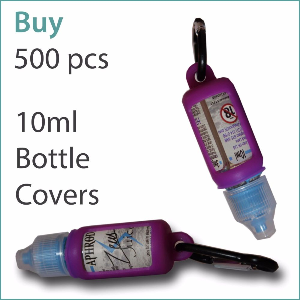 B5) E-Liquid 10ml Custom Bottle Cover x 500 pcs