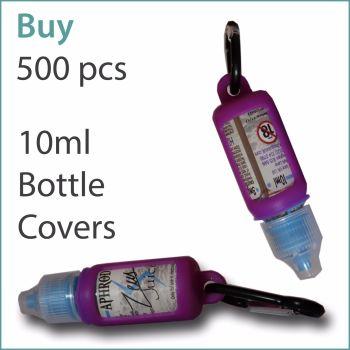 B5) E-Liquid 10ml Custom Bottle Cover x 500 pcs