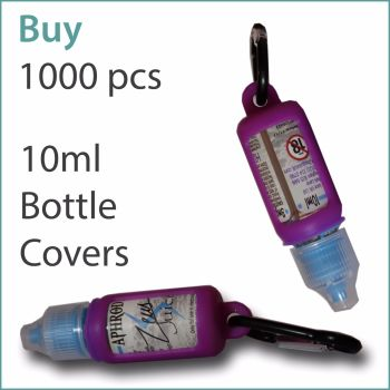 B6) E-Liquid 10ml Custom Bottle Cover x 1000 pcs