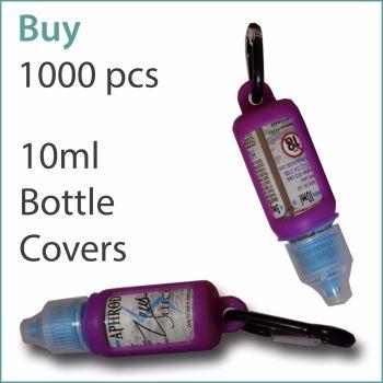 B6) E-Liquid 10ml Custom Bottle Cover x 1000 pcs