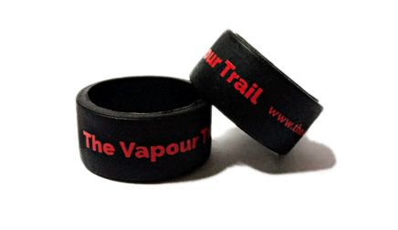 * The Vapour Trail 5 Custom Printed Vape Bands by www.promo-bands.co.uk