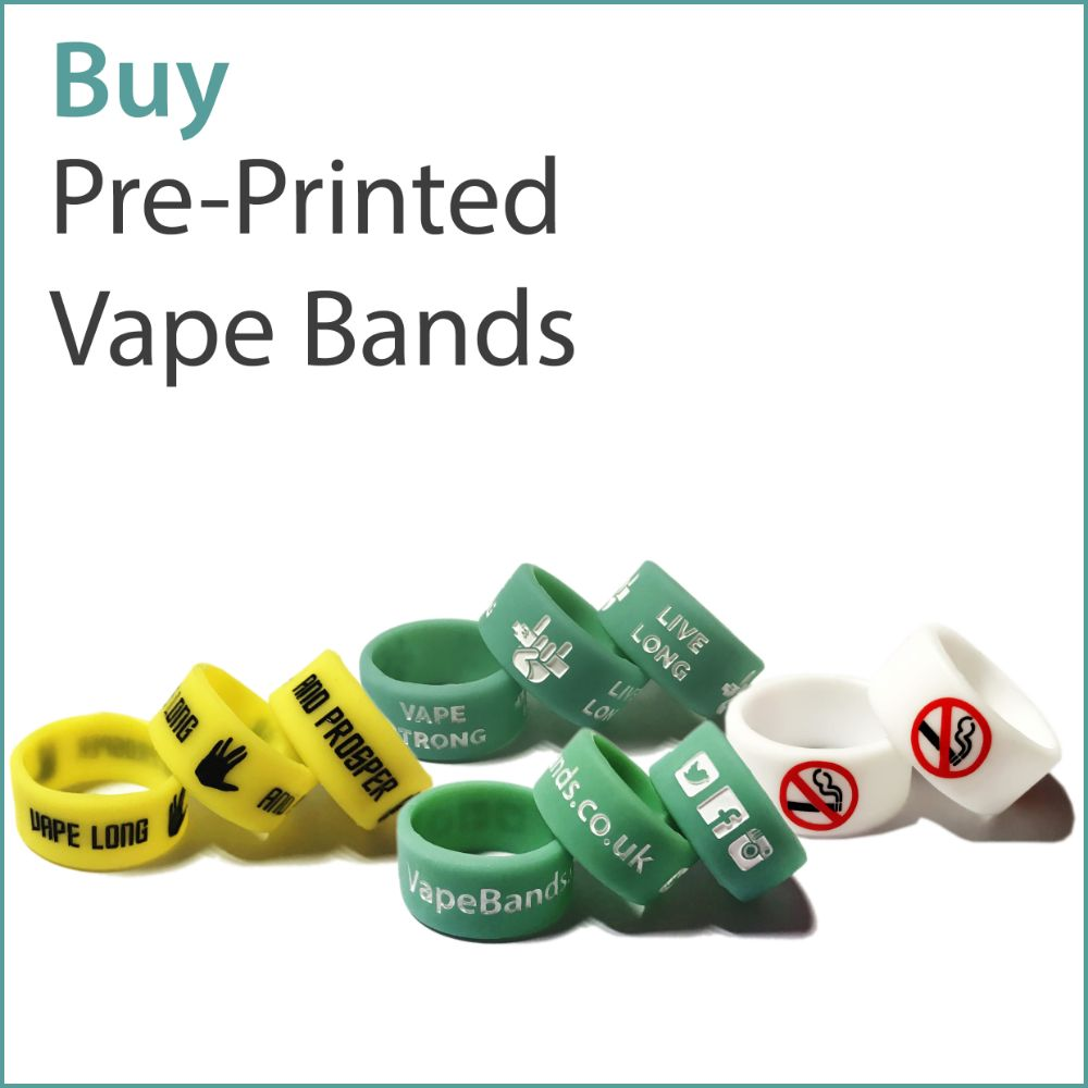 A2) Pre-Printed Vape Bands