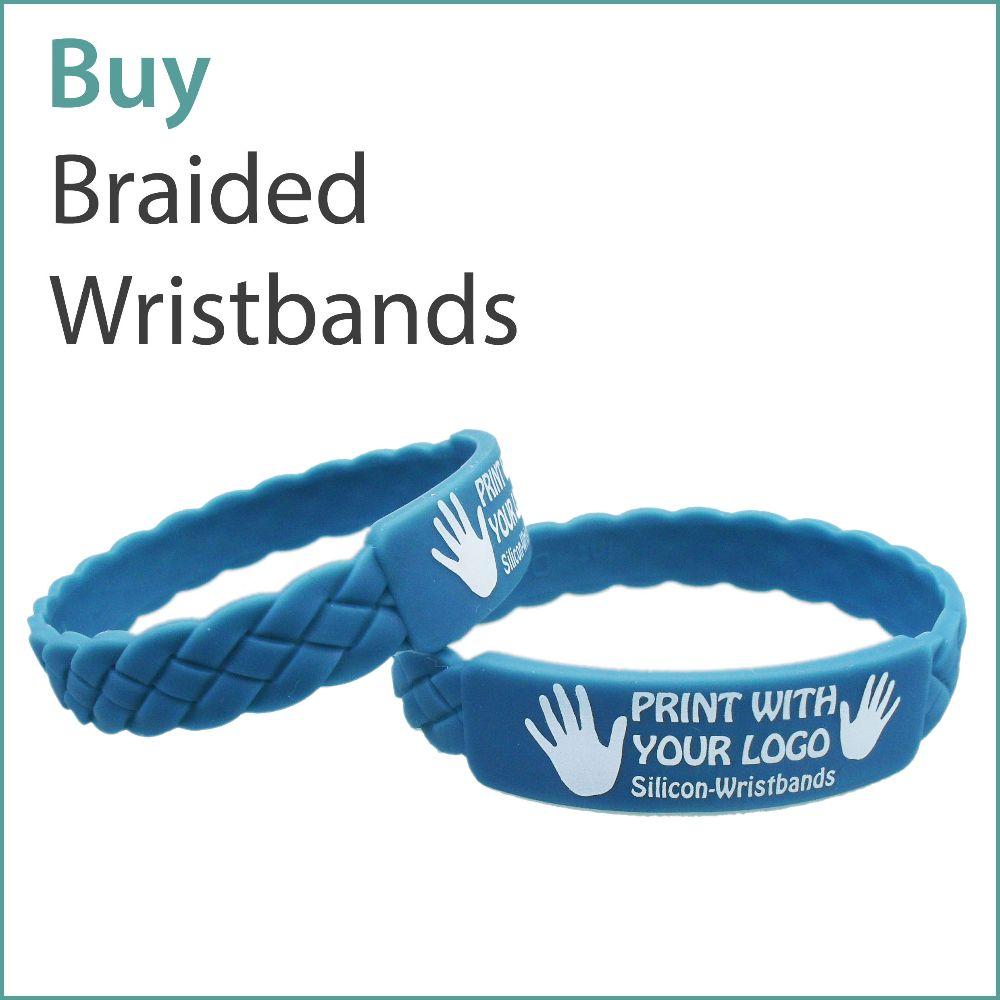 B2) Custom Braided Wristbands