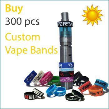 J1) Summer Offer Custom Vape Bands x 300 pcs