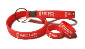 Redbox Vape - Custom Printed Vape Bands Mixed Promotional Pack Vape Bands U