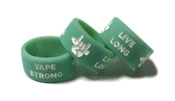 Vape Strong Live Long Vape Band Stock Design - Custom Printed Vape Tank Ban
