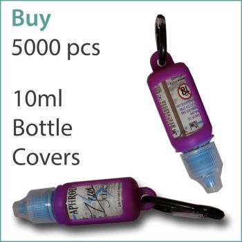 B7) E-Liquid 10ml Custom Bottle Cover x 5000 pcs