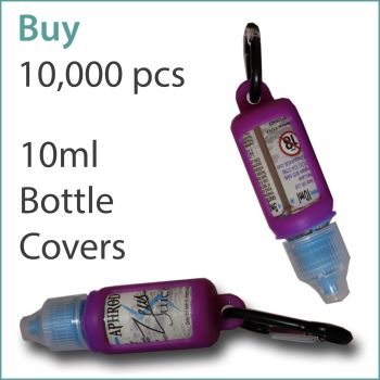 B8) E-Liquid 10ml Custom Bottle Cover x 10,000 pcs