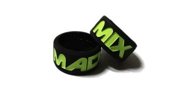Mad Mix 2 - Custom Debossed Vape Tank Bands Silicone Rings by VapeBands.co.