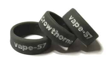 Vape57 - Custom Vape Tank Bands Silicone Rings by VapeBands.co.uk