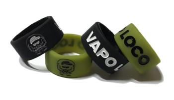 VAPO LOCO - Custom Vape Tank Bands Silicone Rings by VapeBands.co.uk