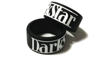 Darkstar E Liquid - Custom Printed Silicone Ring Vape Tank Bands by VapeBan