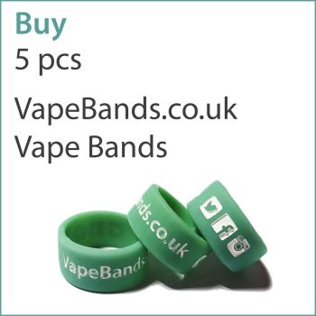 A6) Printed Vape Bands x 5 pcs (VapeBands.co.uk)
