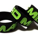 Mad Mix - Custom Printed Deboosed Vape Bands by Promo-Bands.co.uk and VapeB