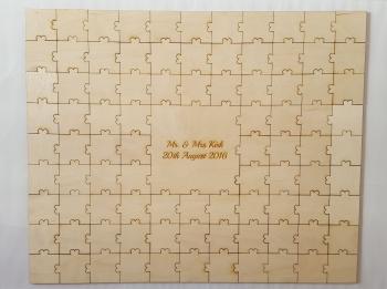 Jigsaw alternative guestbook