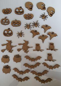 Craft Shape Bundle - Halloween