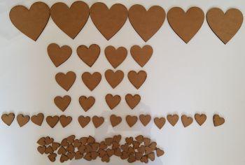Craft Shape Bundle - Hearts