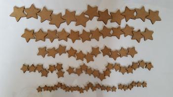 Craft Shape Bundle - Stars