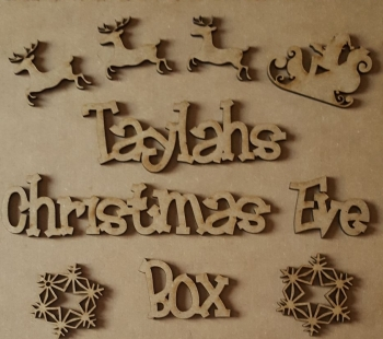 Seperates Christmas Eve Box Topper