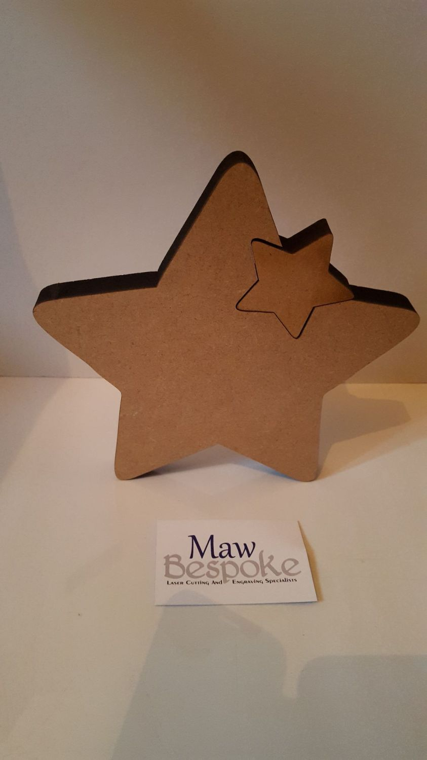 Freestanding Star with Star
