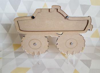 Monster Truck Reward Drop box