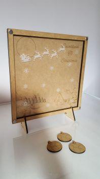 Christmas theme drop box